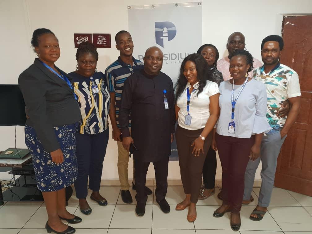 Local Partner and Praesidium International Team
