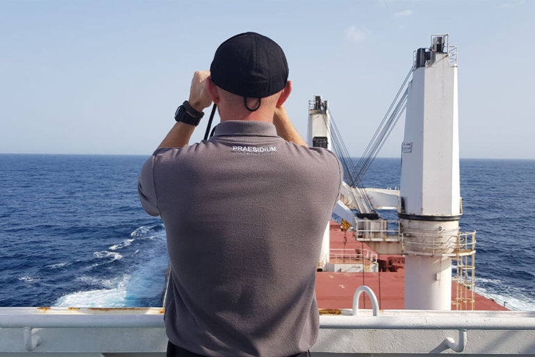 Maritime private security teams