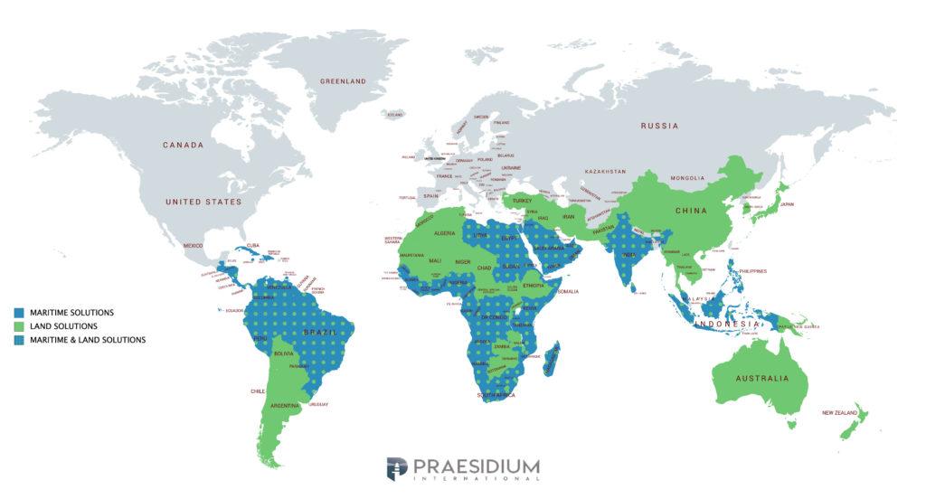 Areas of Operation Praesidium