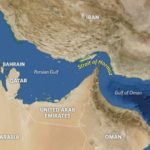 There has been more drama in the Strait of Hormuz with Iran's coast guard seizing a tugboat allegedly involved in smuggling. Map: Nasa