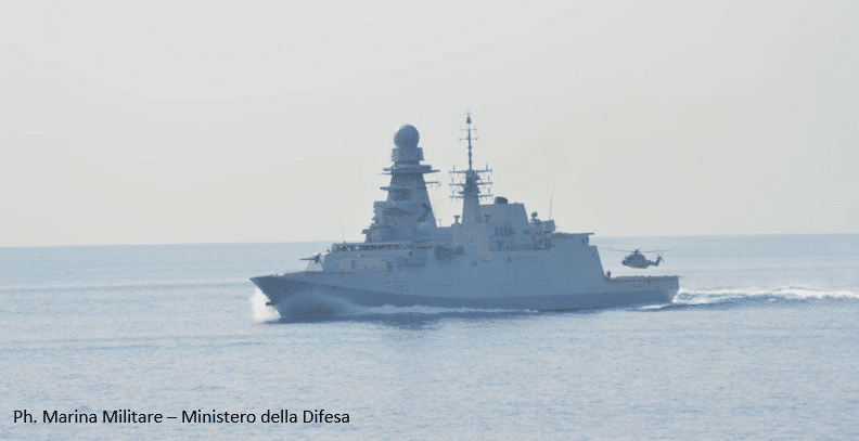 NIGERIA – Italian Navy Frigate intervenes in support of a Greek Bulk Carrier Under Piracy Attack – March 25th, 2020 1