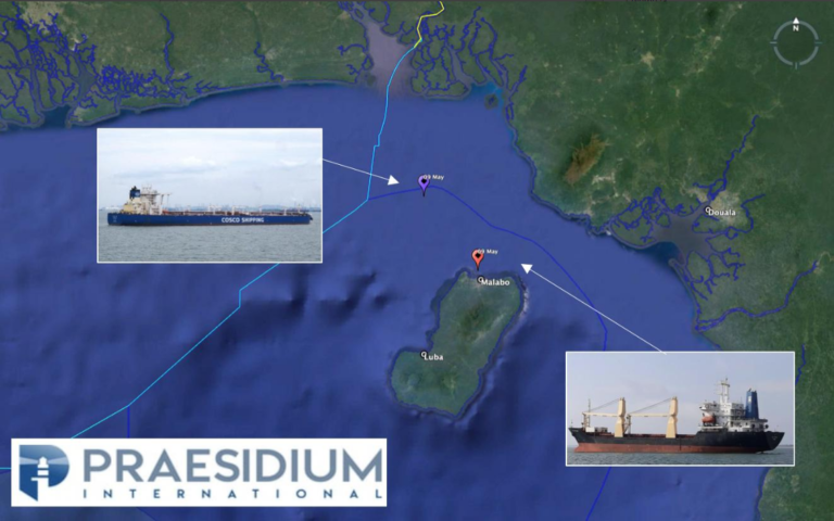 EQUATORIAL GUINEA – Two vessels reported under piracy attack within the Equatorial Guinea waters